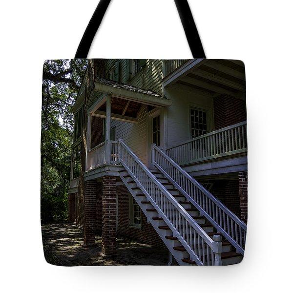 Overseers Porch  Tote Bag by Ken Frischkorn