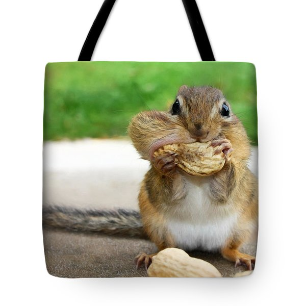 Overstuffed Tote Bag by Lori Deiter