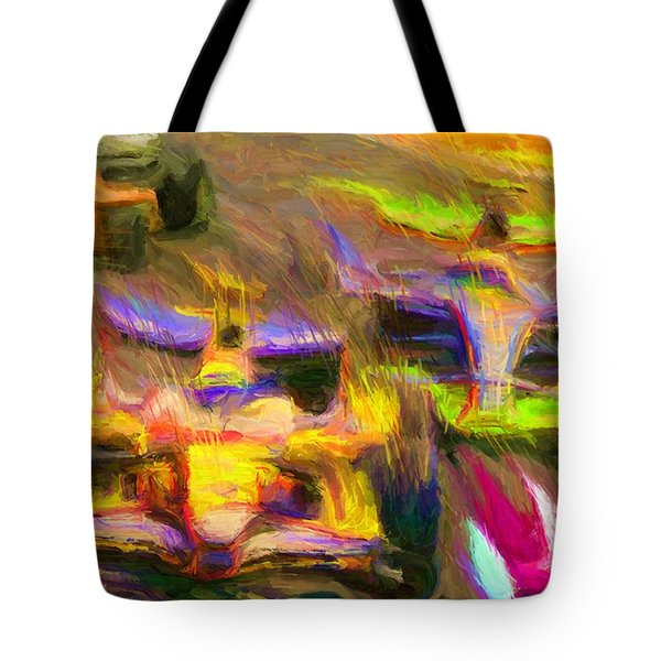 Overtaking Tote Bag