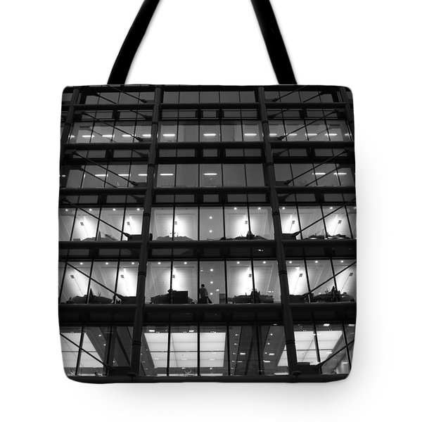 Overtime Tote Bag