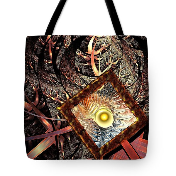 Tote Bag featuring the digital art Overton Window by Anastasiya Malakhova