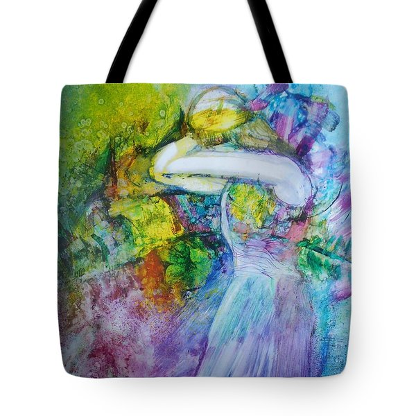 Overwhelming Love Tote Bag