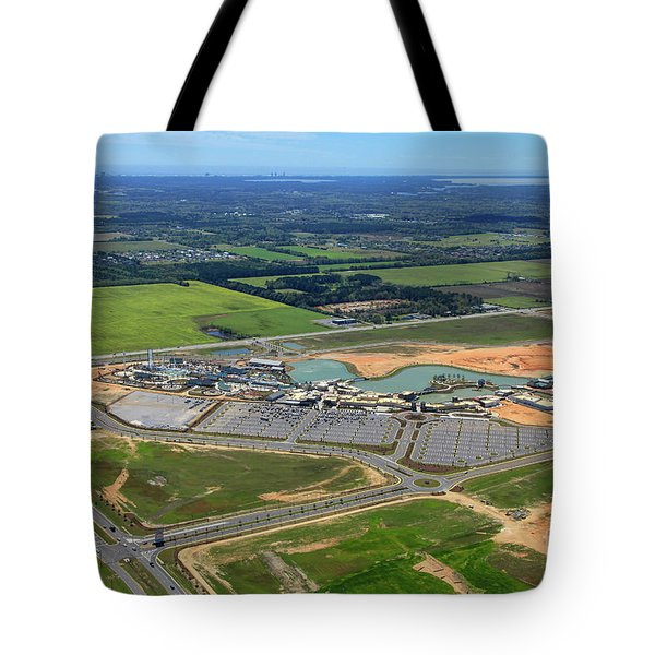 Tote Bag featuring the photograph Owa 7674 by Gulf Coast Aerials -