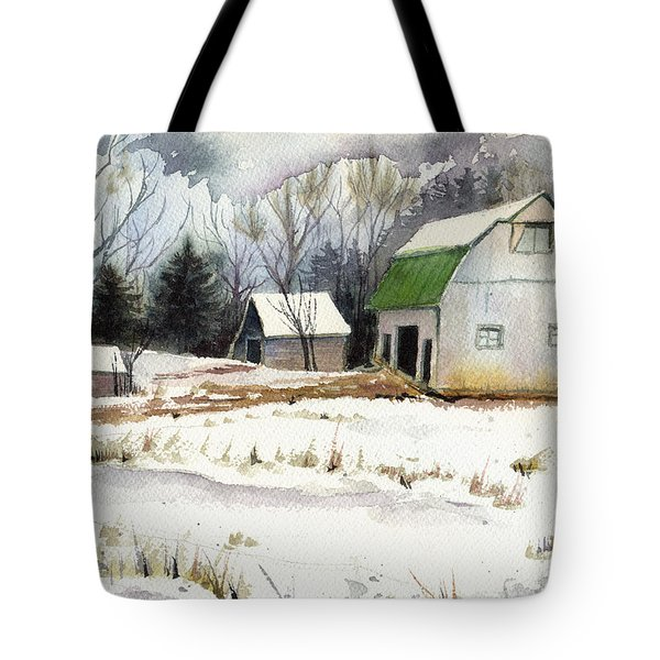 Owen County Winter Tote Bag
