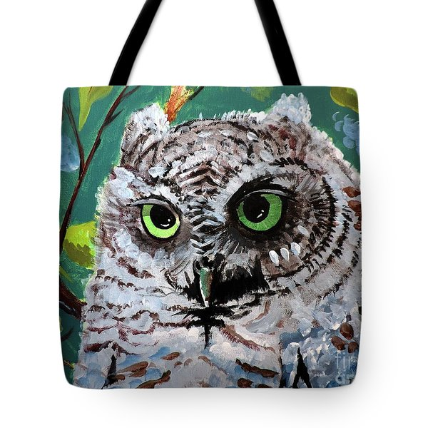 Owl Be Seeing You Tote Bag by Tom Riggs