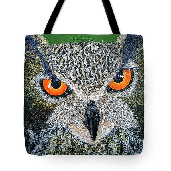 Owl Capone Tote Bag