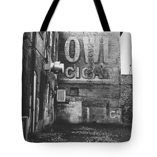 Owl Cigar- Walla Walla Photography By Linda Woods Tote Bag