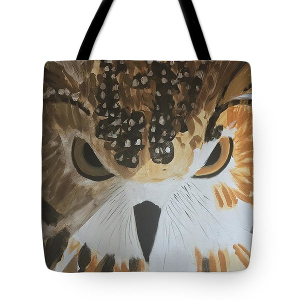 Owl Tote Bag by Donald J Ryker III