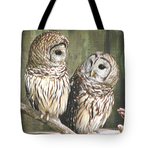 Owl Love You Forever Tote Bag by Martha Ayotte