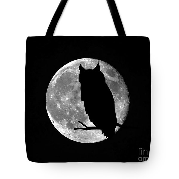 Owl Moon Tote Bag by Al Powell Photography USA