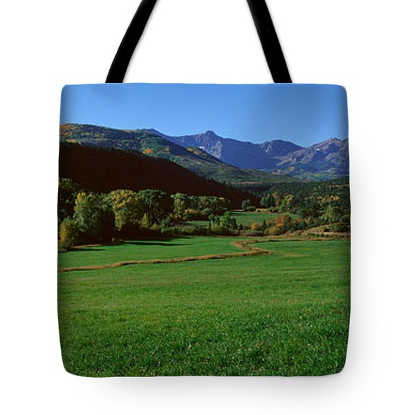 Owl Pass, Ridgeway, Colorado Tote Bag