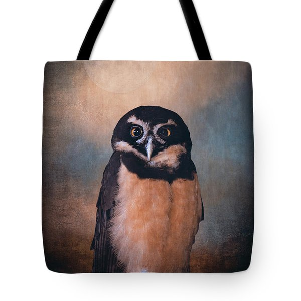 Owl Spirit Tote Bag by Maria Angelica Maira