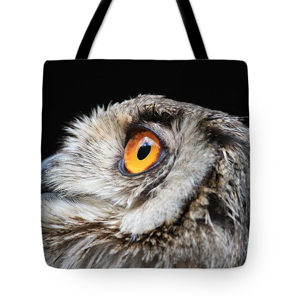 Owl The Grand-duc Tote Bag by Mary-Lee Sanders
