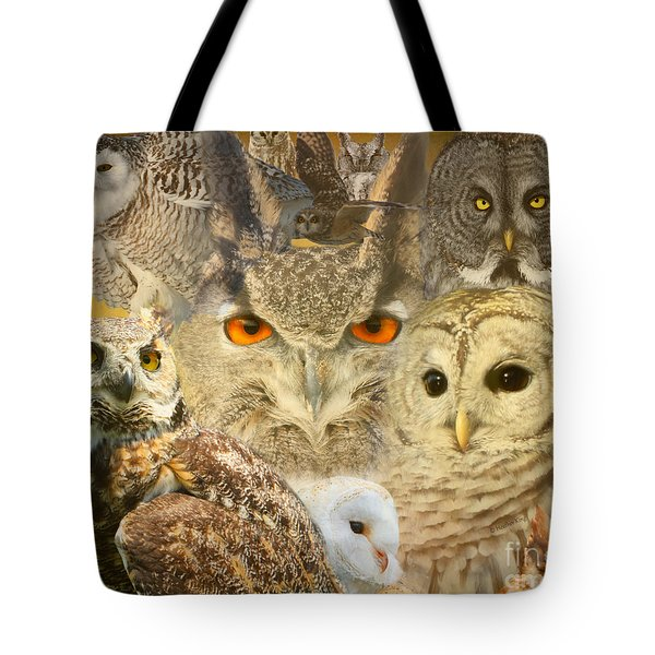 Owl You Need Is Love Tote Bag