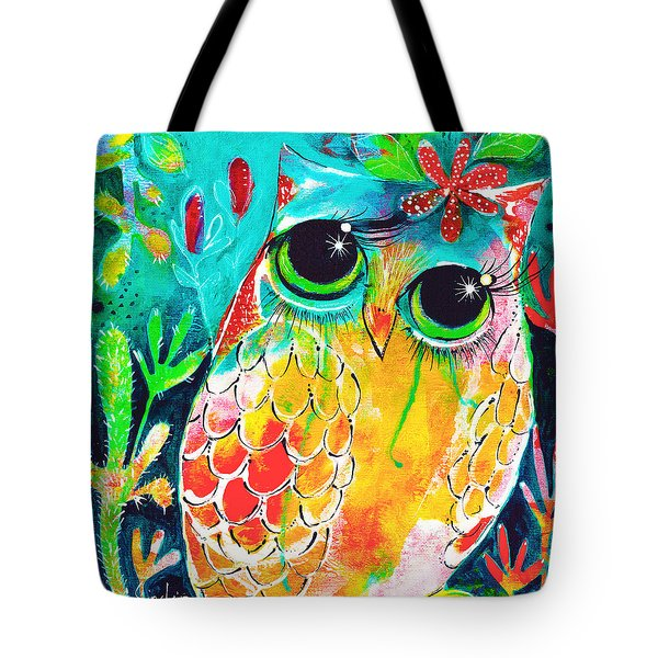 Owlette Tote Bag by DAKRI Sinclair