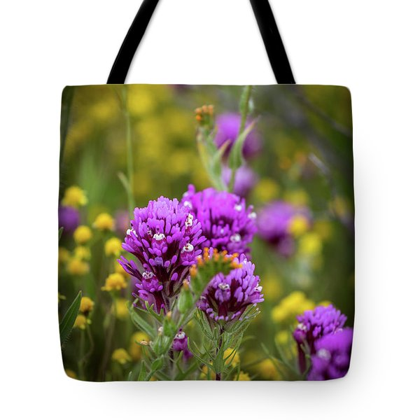 Tote Bag featuring the photograph Owl's Clover by Peter Tellone