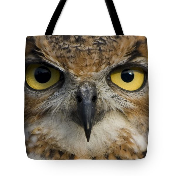 Owls Eyes Tote Bag by Pixie Copley