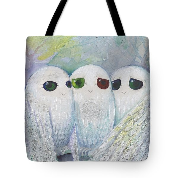 Owls From Dream Tote Bag