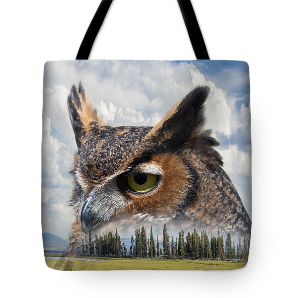 Owl's Rest Tote Bag