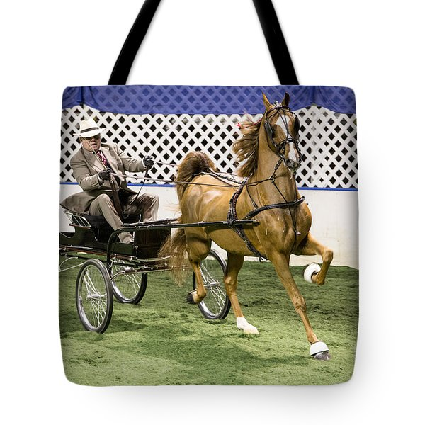 Beam Me To First Place, Scotty Tote Bag by Lynn Sprowl