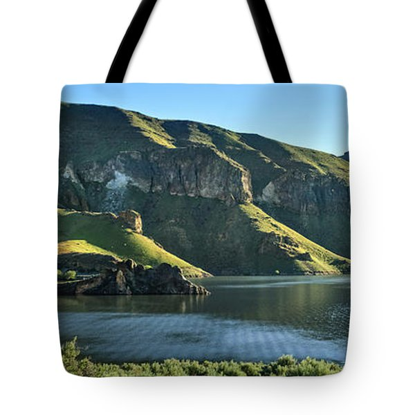 Owyhee Reservoir Tote Bag by Robert Bales