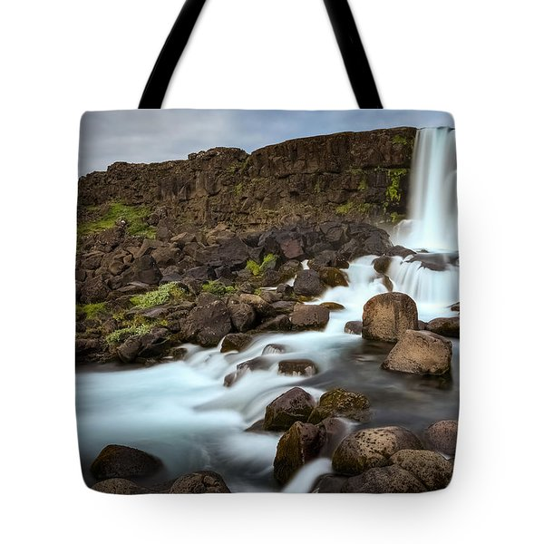 Oxararfoss Tote Bag