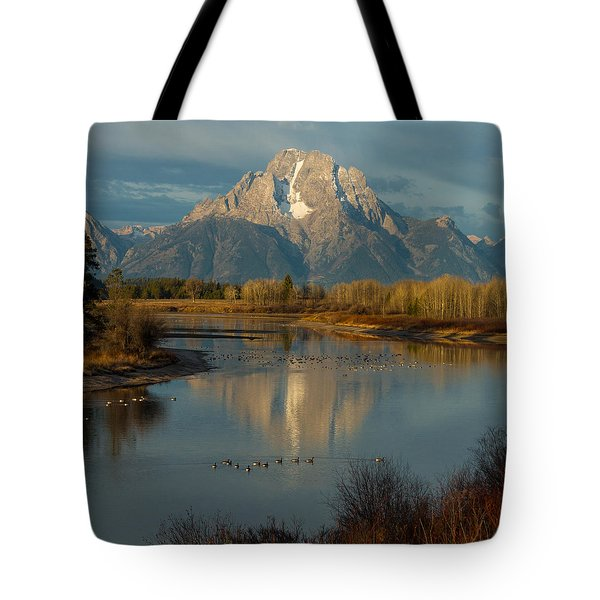 Oxbow Bend Tote Bag
