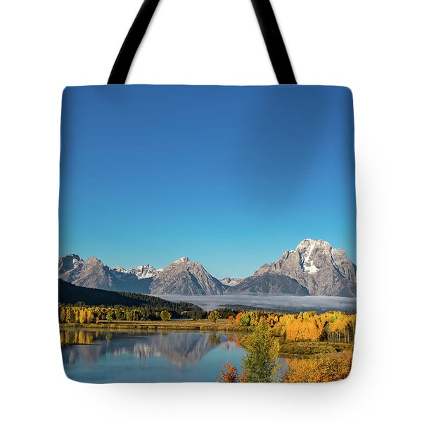 Oxbow Bend Tote Bag by Mary Hone