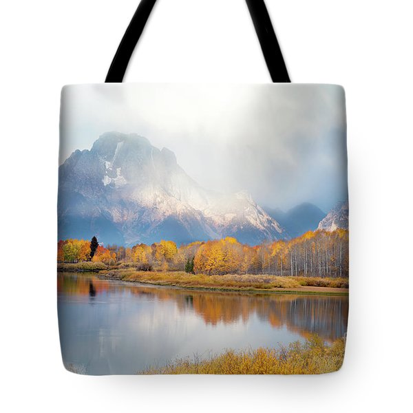 Oxbow Bend Turnout, Grand Teton National Park Tote Bag