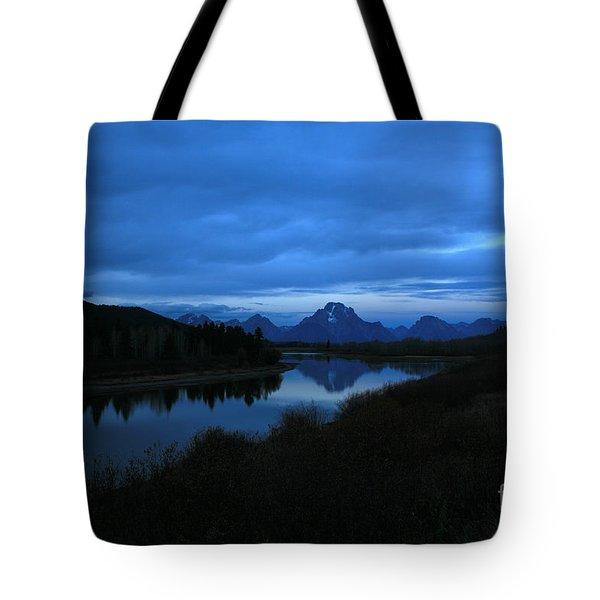 Oxbow Moon Tote Bag