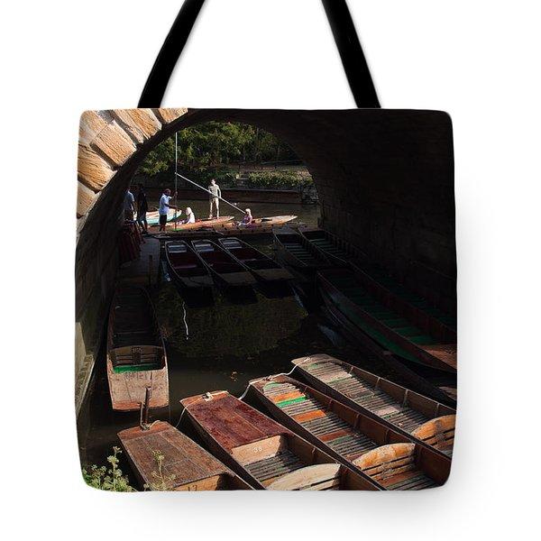 Oxford Punts Tote Bag