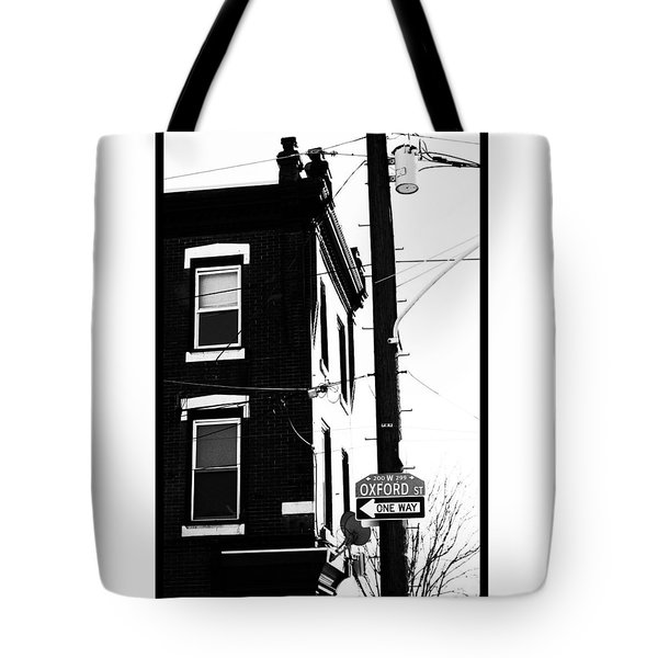 Tote Bag featuring the photograph Oxford St by Christopher Woods