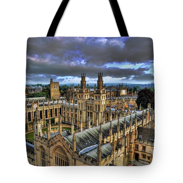 Oxford University - All Souls College Tote Bag