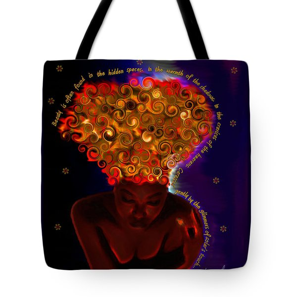 Oya Tote Bag by Iowan Stone-Flowers