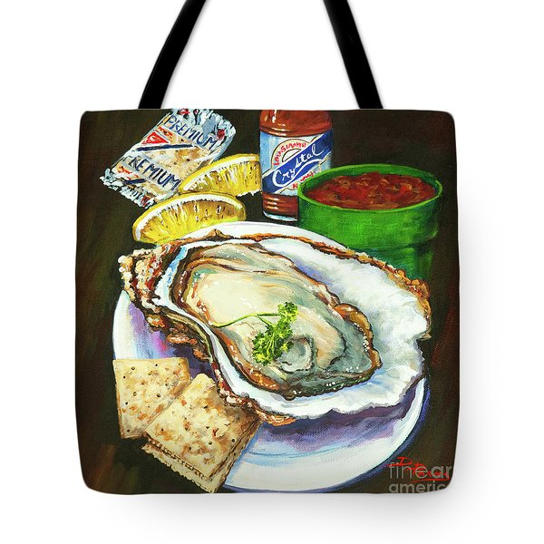 Oyster And Crystal Tote Bag