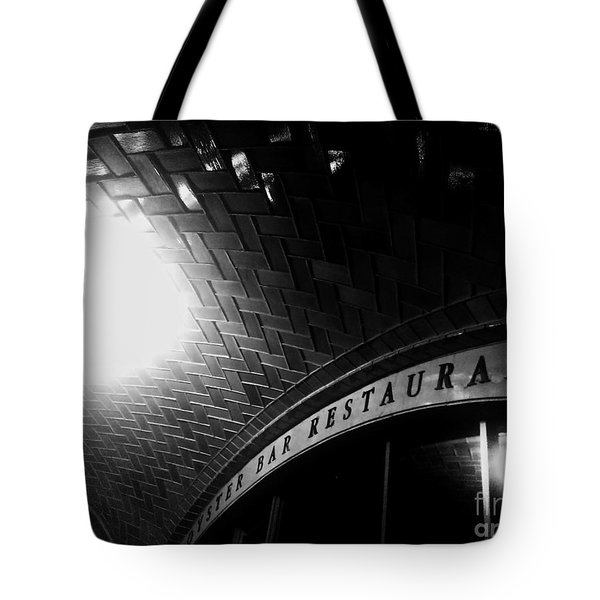 Oyster Bar At Grand Central Tote Bag