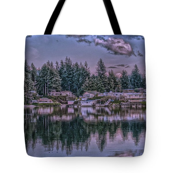 Oyster Bay 1 Tote Bag by Timothy Latta