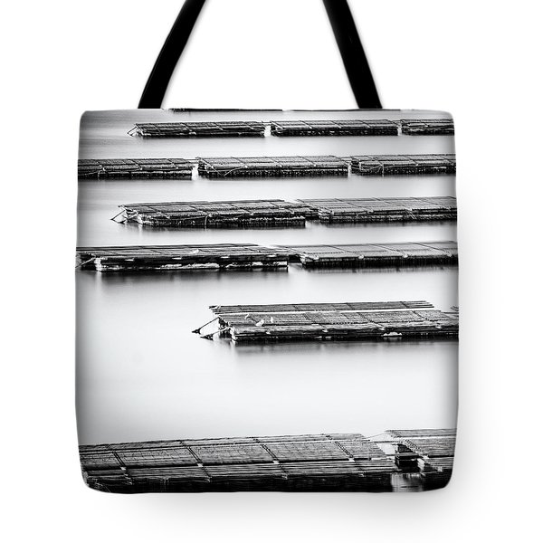 Oyster Farm Tote Bag