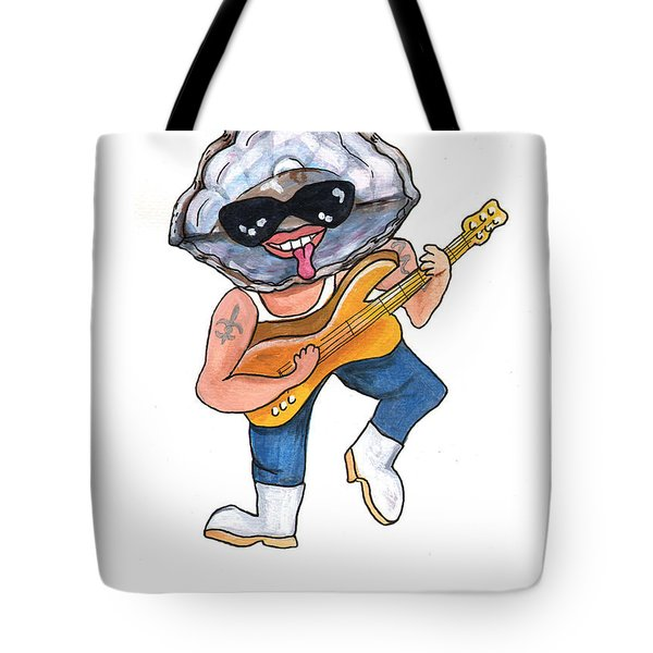 Oyster Rocker Feller Tote Bag by Elaine Hodges