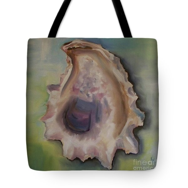 Oyster Shell Tote Bag by Kristine Kainer