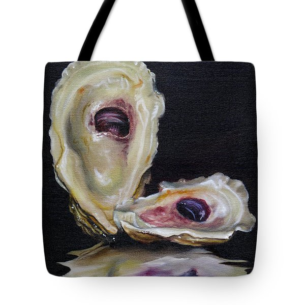 Oyster Shell Reflections Tote Bag