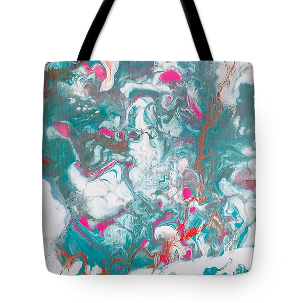 Oysters And Pearls Tote Bag