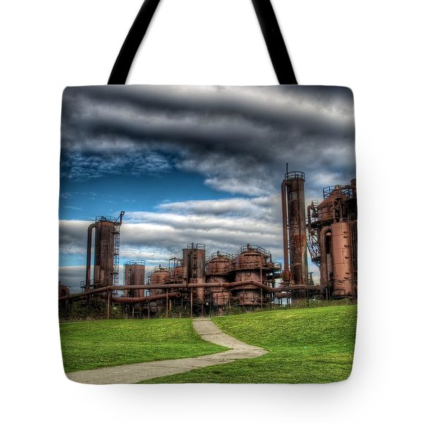 Oz Tote Bag by Spencer McDonald