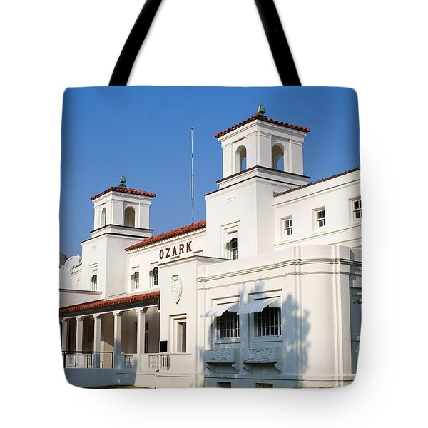Ozark Bath House Tote Bag
