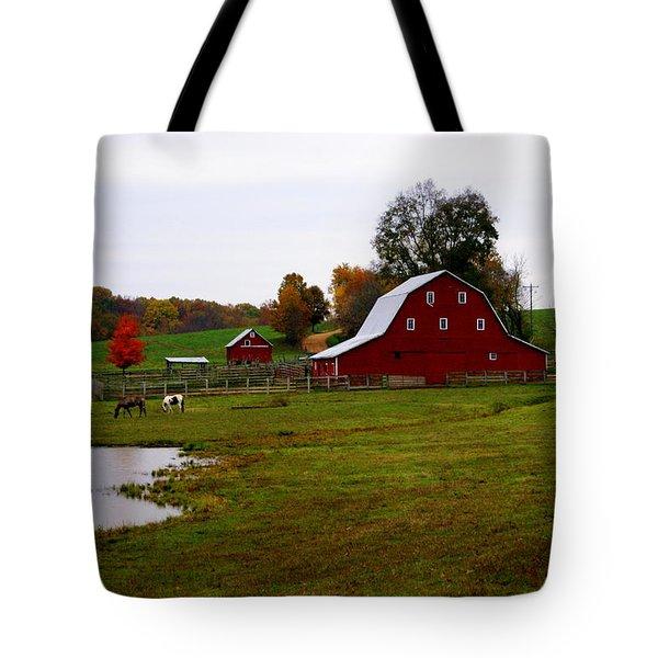 Ozark Farm Tote Bag by Marty Koch