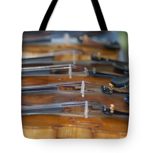 Ozark Hoedown Tote Bag by Wanda Brandon