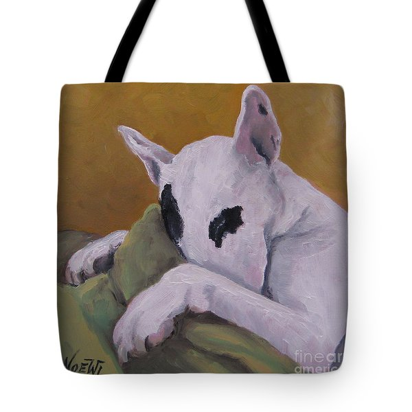 Tote Bag featuring the painting Ozzi by Jindra Noewi