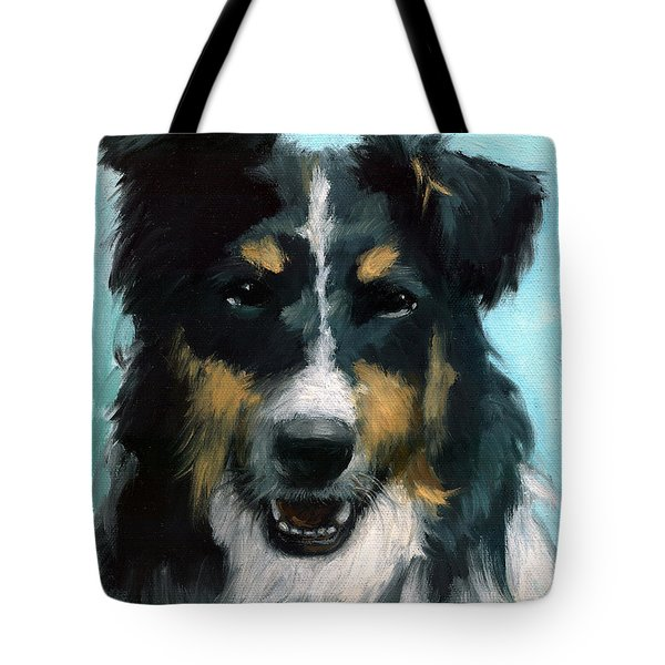 Ozzie Animal Dog Portrait Tote Bag