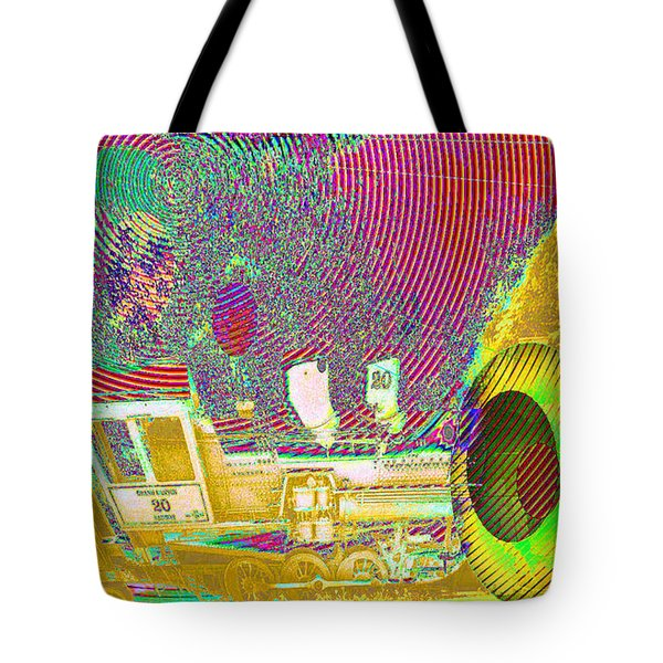 Ozzy's Crazy Train   Tote Bag by Jeff Swan