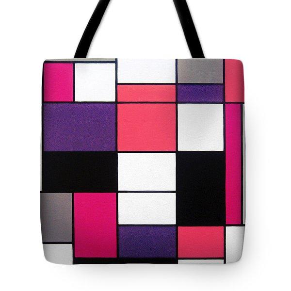 P Cubed Tote Bag by Oliver Johnston
